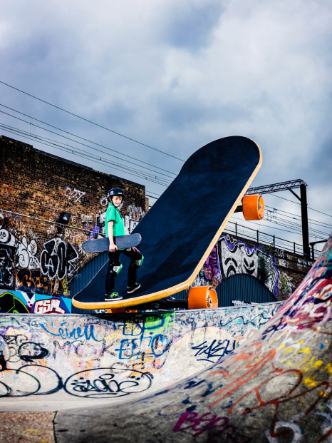 UK's Largest Skateboard