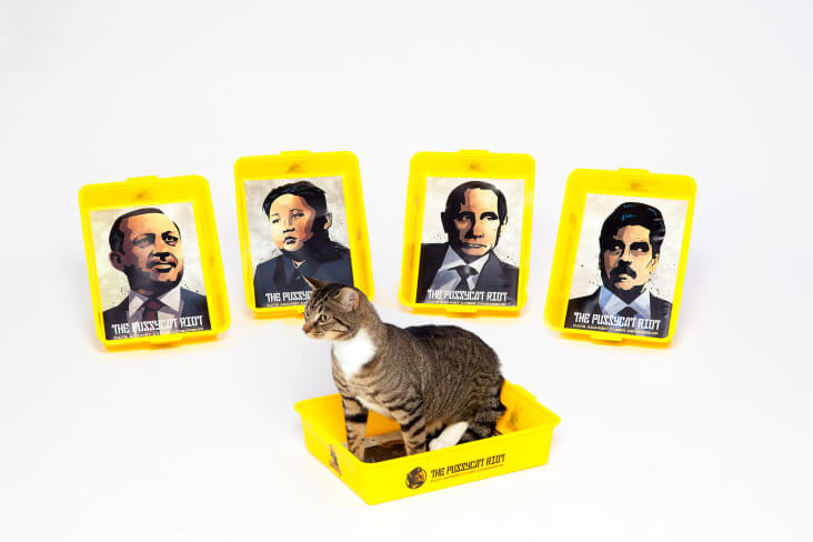Heads of State Cat Litter Tray