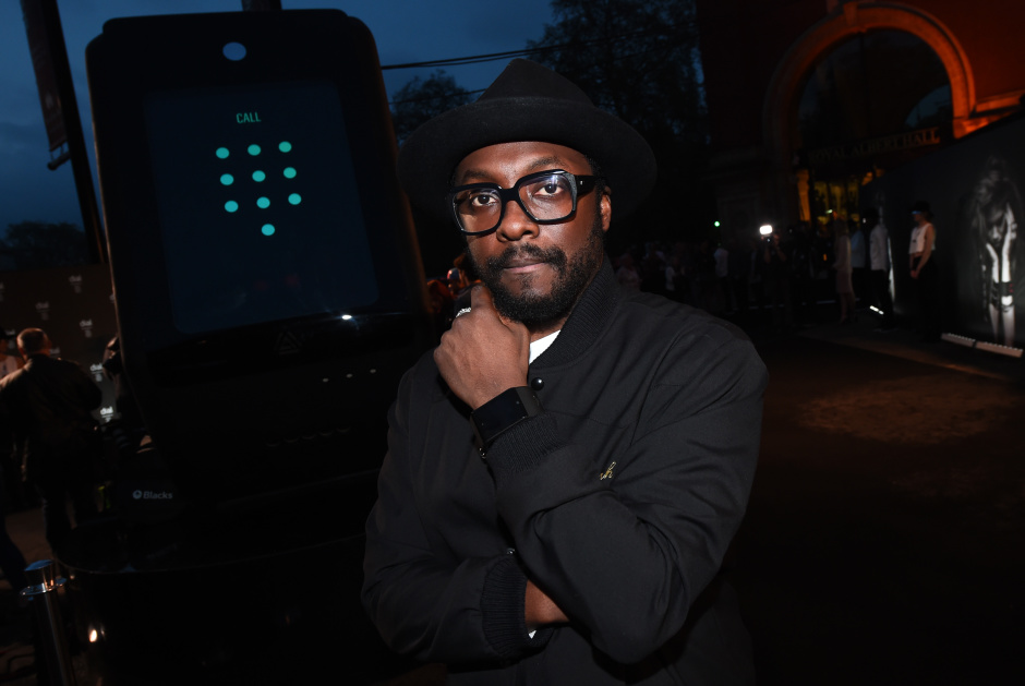 LONDON, ENGLAND - MAY 11: Will.I.Am launches dial at Royal Albert Hall gig featuring special guests at Royal Albert Hall on May 11, 2016 in London, England. (Photo by Eamonn M. McCormack/Getty Images for i.am+) *** Local Caption *** Will.I.Am