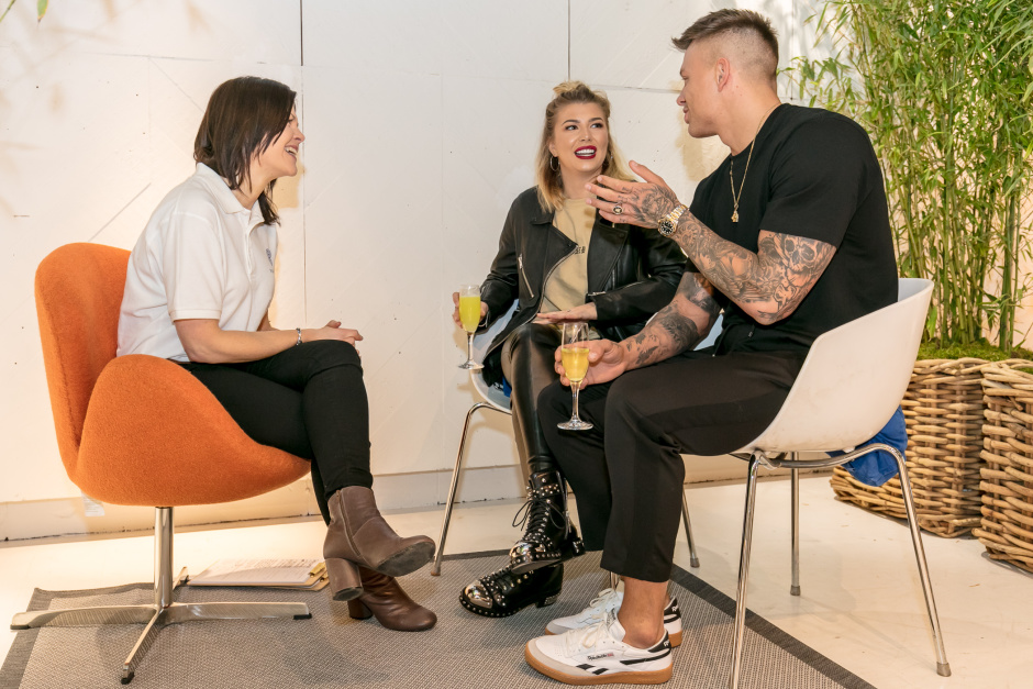 Today, Love Island's Alex Bowen and Olivia Buckland launched In Fitness & In Health and received a wedding MOT ahead of their big day in September – the first health and wellness wedding boutique where those getting married or simply attending a wedding this year can have consultations with industry experts for help with conquering the big day.