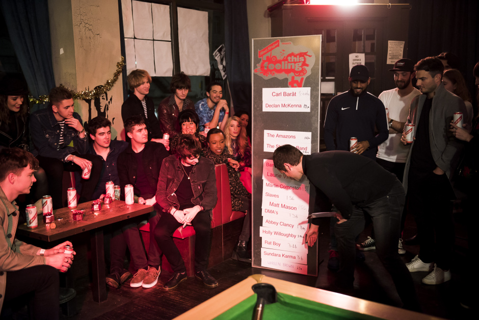 This Feeling TV with Red Stripe, Episode 4. @ Nambucca with Holly Willoughby, Yonaka, The Sherlocks and Gerry Cinnamon